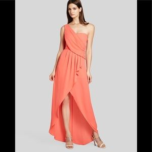 BCBG Maxariza Salmon Formal Dress